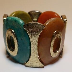 Jewelry - Multi-colored stretchy bracelet